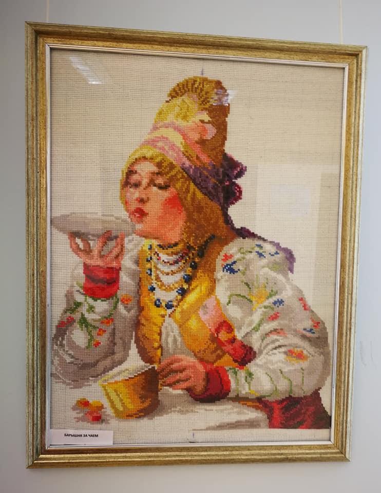 Красота в интерьере:  выставка Валентины Надеиной / Kaunidus interjeris